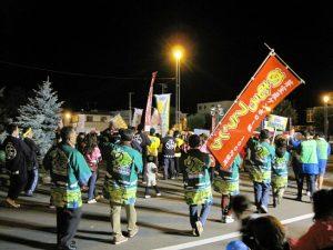 芽室町納涼盆踊り大会 @ めむろ駅前広場