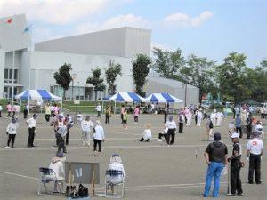 第32回発祥の地杯全国ゲートボール大会 @ 芽室南公園運動広場(芽室町健康プラザ)